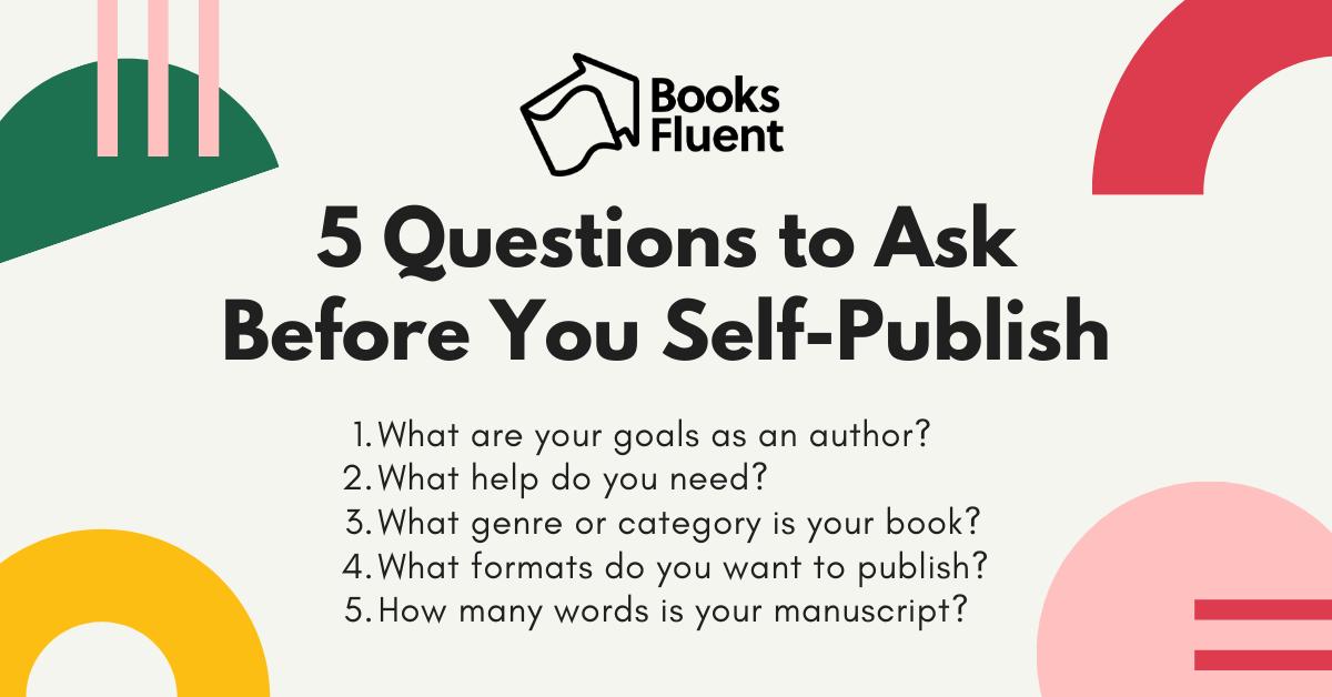 self publishing a book